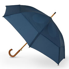 GustBuster Classic Automatic Windproof Walking Umbrella - Navy