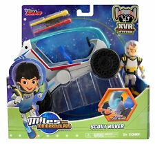 DISNEY JUNIOR MILES FROM TOMORROWLAND SCOUT ROVER WITH ASTRONAUT FIGURE LEO -NEW