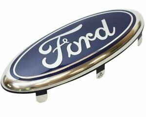 2001-2008 FORD FIESTA mk5 FRONT BUMPER CENTER GRILLE OVAL BADGE EMBLEM