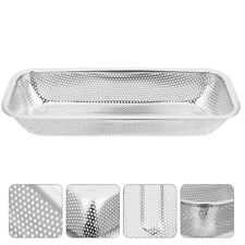New listing 1 Pc Stainless Steel Portable Drain Basket for Vegetables Fruits Tableware