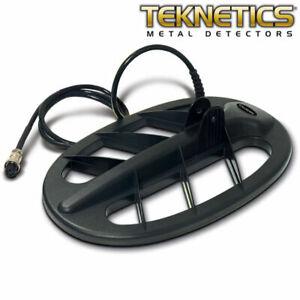 "Teknetics 11"" DD Elliptical Search Coil for Teknetics Metal Detector 11COIL-TEK"