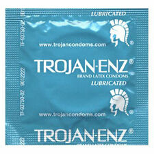 12 Pack Trojan Enz Premium Lubricated Latex Condoms Bulk