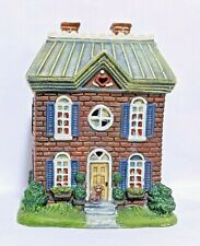 """1998 Lang & Wise Town Hall Collectibles """"Heart & Home House"""" #2"""