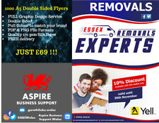 1000 A5 Double Sided Full Colour Flyers/Leaflets: Fully Designed and Printed