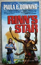 Rinn's Star by Paula E. Downing PB 1st Del Rey - wanted woman