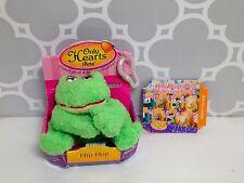 New Only Hearts Club Pets Hip Hop Green Frog Plush Mini Pet with Clip Nib