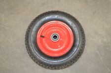 "16"" 400mm Barrow Wheel 4.80 / 4.00 X 8 Metal Rim 210 Kg 16mm Bore"