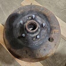OEM Jaguar XK120 Steel Wheel Front Brake Drum and Hub Original