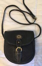MARK CROSS Country Small Black Leather Crossbody Bag Purse-VERY NICE