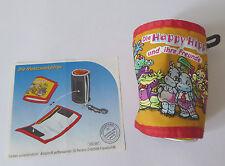 Ü-Ei: Maxi-Ei: Geldbörse! Die Happy Hippos und ihre Freunde!+BPZ! Rarität! TOP!