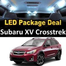 For 2013 - 2018 Subaru XV Crosstrek LED Lights Interior Package Kit WHITE 6PCS