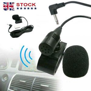 Car Stereo Radio BT Bluetooth Microphone 3.5mm.Sony JVC Kenwood Alpine UK STOCK