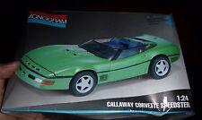 MONOGRAM CALLAWAY CORVETTE SPEEDSTER 1:24 FS Model Car Mountain KIT