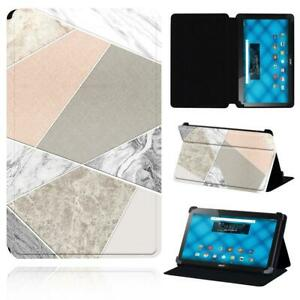 Printed PU Smart Stand Case cover Fit Acer Iconia One 10 B3-A10 A20 A30 A40 A50