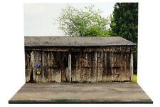 Diorama Hangar agricole / Farm shed - 1/32ème - #32-2-E-E-003