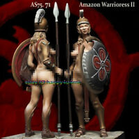 1/24 Scale Ancient Female Warrior Figure Model Sexy Woman Garage Kits Statue GK