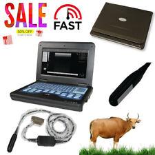 Veterinary Ultrasound Scanner Portable Vet Machine Rectal Probe 75mhz Horsecow