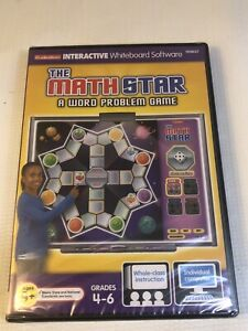 Lakeshore Interactive Whiteboard Software HH637 The Math Star Gr 4th 6th Grade