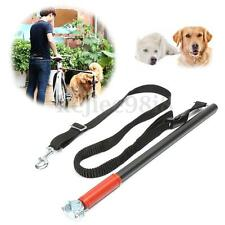 Hands Free Dog Bike Bicycle Bungee Jogging Lead Running Leash Distance Keeper UK