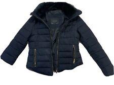 ZARA basic Down jacket size M W/hood
