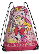SAILOR MOON S Chibimoon Anime Drawstring Bag Brand New GE 11001 Pink School