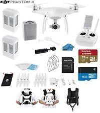 DJI Phantom 4 Quadcopter Drone with 4K Video
