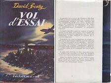 C1 AVIATION David BEATY - VOL D ESSAI EO 1956 New York Londres JAQUETTE
