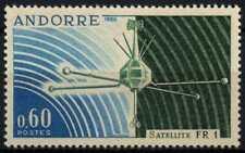 Andorra French 1966 SG#F197 Satellite FR1 MNH #D71776