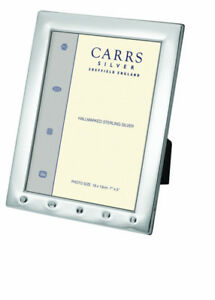 English Silver Photo Frame 6 x 4 Inches With Feature Hallmark For 2019
