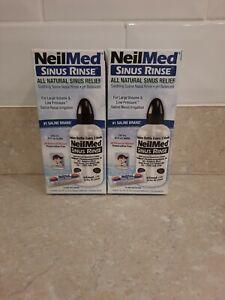 X2 Neil Sinus Rinse Squeeze Bottle, 1 Premixed Sachet. All Natural Sinus Relief