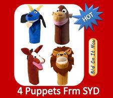 NEW 4 Baby Einstein Puppet Monkey Lion Horse Goat Seen DVD limited stocks hurry