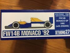 Studio 27 1/20 Williams FW14B with engine Monaco '92 (FK2022) Mansell / Patrese