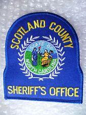 Patch- Scotland County Sheriff's Officer South Carolina US Police Patch (NEW* )