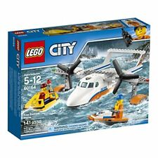NEW LEGO City Coast Guard Sea Rescue Plane 60164 Building Kit 141 Piece