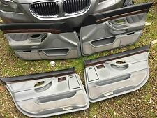 BMW E38 (full leather) door card panel + wood 730iL 750iL 740iL 735iL 728iL 750