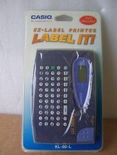 Casio Compact Label System, KL-60-L, UPC