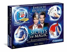 Clementoni 59048 - Secrets of Magic Tricks Zauberkasten Ehrlich Brothers NEU&OVP