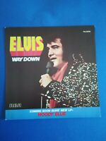 Pochette seule 45T vintage TTBE - ELVIS PRESLEY - WAY DOWN - PLEDGING MY LOVE