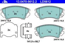 Bremsbelagsatz Scheibenbremse ATE Ceramic - ATE 13.0470-5612.2