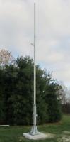 25' - 50' Free Standing Tilt - Crank Up Tower Plans for Turbine or Antennas