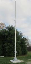 25' - 50' Free Standing Tilt - Crank Up Tower Plans for Wind Turbine Antenna...