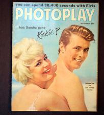 Vintage Photoplay Hollywood Magazine 1959 Sandra Dee Elvis Presley Germany