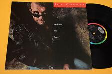 JOE COCKER LP UNCHAIN MY HEART ORIG OLANDA DIRECT METAL MASTERED EX+ !