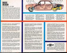 1961 Chevy Chevrolet CORVAIR Sales Brochure, ORIGINAL!