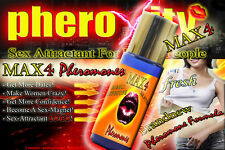 SALE★ pheroXity MAX4 SEX ATTRACTANT ★ Pheromone für MÄNNER ✔ SEXLOCKSTOFF ★ WOW!