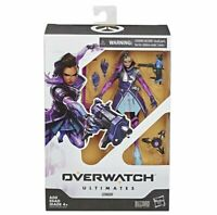 """Overwatch Ultimates Series Sombra 6"""" Collectible Action Figure Hasbro NON-MINT"""