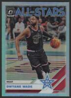 2019-20 Donruss Optic All Stars HOLO Refractor #20 Dwyane Wade Miami Heat