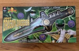 Mighty Morphin Power Rangers Legacy Green Dragon Dagger Bandai NEW