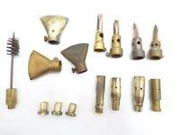 Vintage blowtorch tips soldering torch hood welder propane welding tools lot