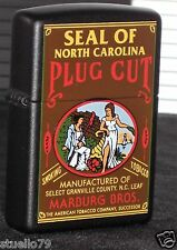 Zippo Lighter - PLUG CUT- Tobacco Tin Series -LIMITED- 50 MADE -ULTRA MEGA RAR
